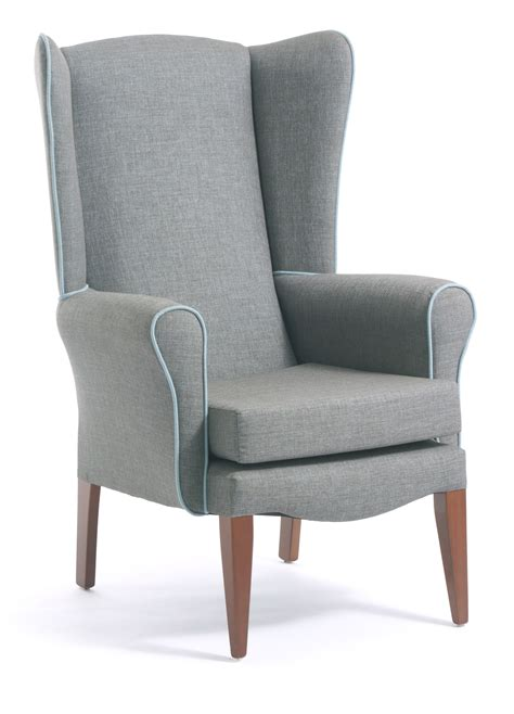 High Backed Armchair by Salisbury High Back Armchair Cfs Contract Furniture