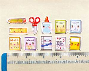School Planner Stickers: Cute Back to School Sticker Pack