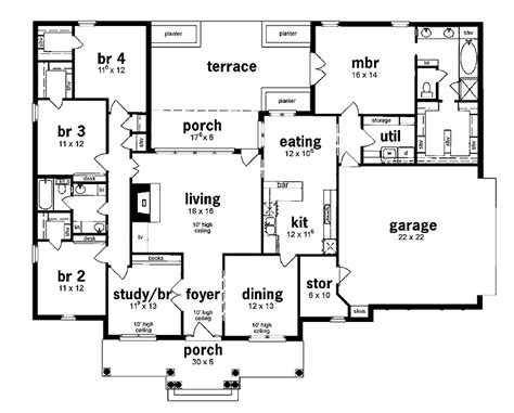 5 bedroom single house plans 301 moved permanently