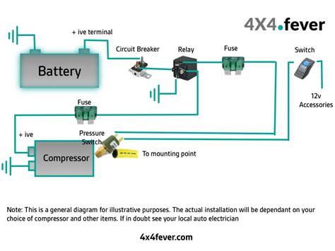 compressor wiring diagram 4x4 fever