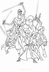 Coloring Randy Cunningham Pages Moss Star Wars Step Template Fanart Sketch sketch template