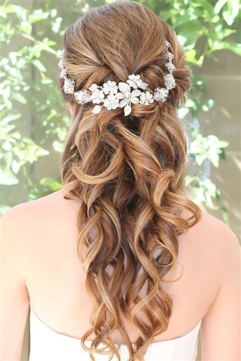 10 Flower Crown Hairstyles for Any Bride   mywedding