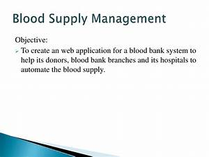 Blood Bank Web Application