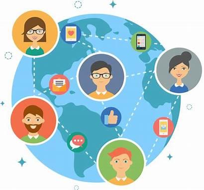 Globalization Clipart Clip Culture Social Illustration Hr