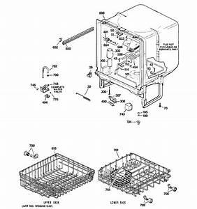 Ge Gsd2100n00ww Dishwasher Parts