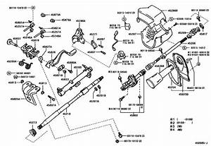 Steering Column  U0026 Shaft For 1998