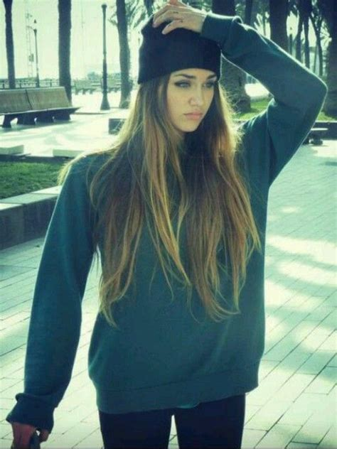 cute skater girl hairstyles i m going through a major beanie loving phase my style