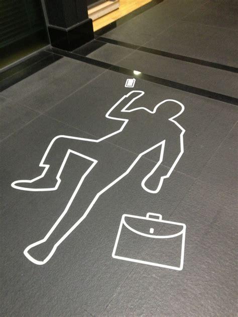 Chalk Outline Dead Body