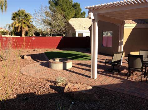 maintenance free backyard ideas maintenance free arizona backyard landscape