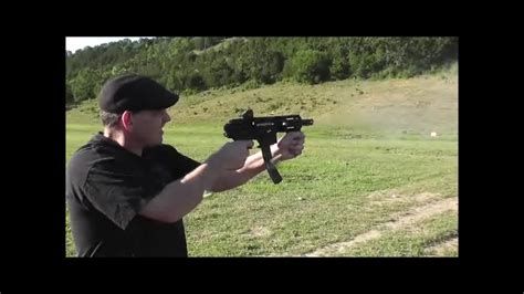 .22 Full Auto Pistol Compared To Bumping Ruger 10/22