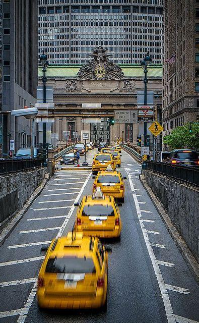 grand central taxis  york   viajar