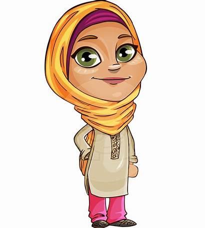 Cartoon Arabic Muslim Character Transparent Arab Clipart