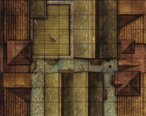 dungeons dragons rooftop lookout gamemastery d d map