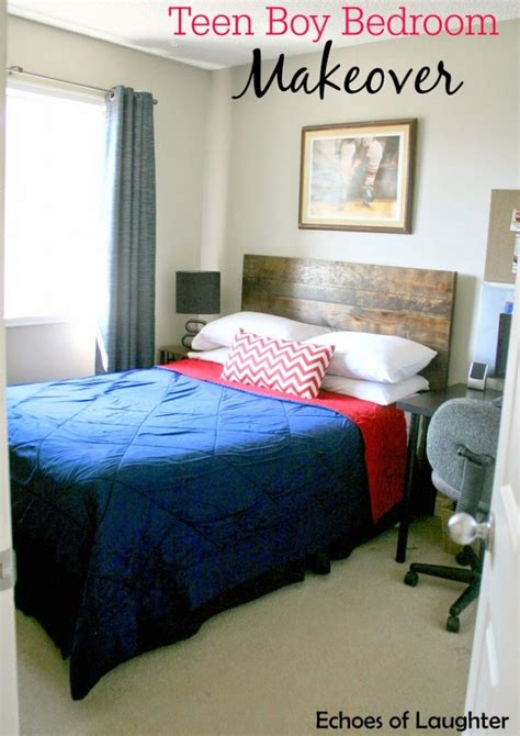 Teen Boy Bedroom Makeover  Echoes Of Laughter