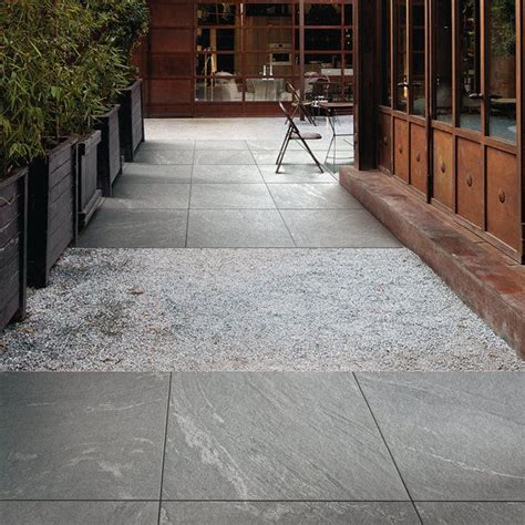 mix your patio surfaces together gravel and our patio