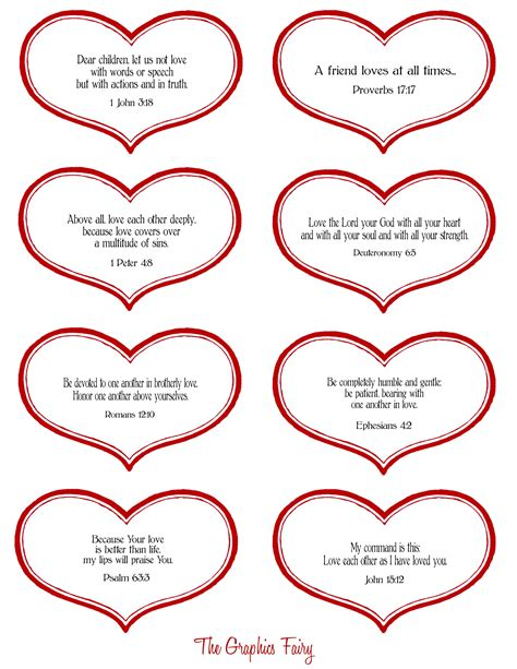 Free Printable Heart Stencil Templates