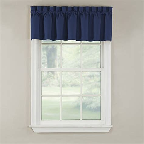 20 Inch Valance Curtains by Gpd Newport 60 Inch X 12 Inch Rod Pocket Valance Window