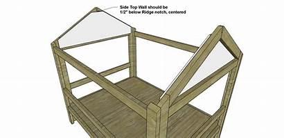 Bed Loft Diy Plans Build Cabin Walls