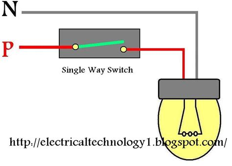 One Way Switch Wiring Diagram by Wiring Light Switch How To A L By 1 Way Switch
