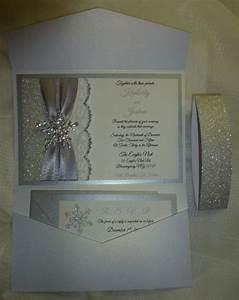 winter wedding invitation silver glitter wedding With glitter snowflake wedding invitations