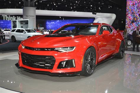New York 2016 Chevrolet Camaro Zl1 Coupe And Convertible