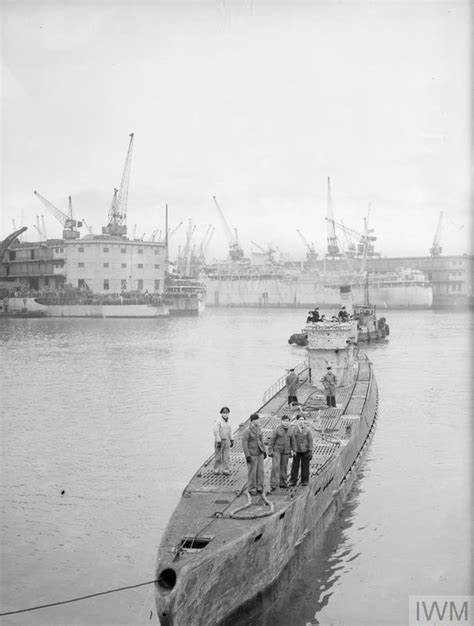 Boat Parts Gladstone by Blockade Running U 532 Surrenders 17 May 1945 Gladstone