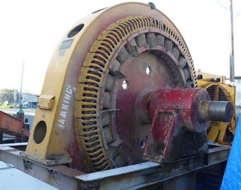 Synchronous Electric Motor by General Electric 2000 Hp 1471 Kw Synchronous Motor 257