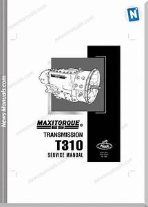 Mack Maxitorque Transmission T310 Service Manual