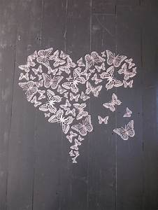 67 best valentine39s images on pinterest shop windows for Kitchen cabinets lowes with pink butterfly wall art