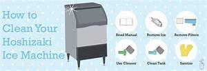 Hoshizaki Ice Machine Cleaning Made Easy