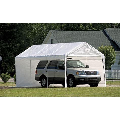 shelter logic canopies shelterlogic    ft deluxe  purpose canopy carport sc  st walmart