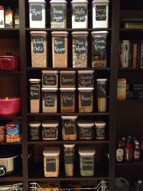 pantry organization  oxo containers  martha
