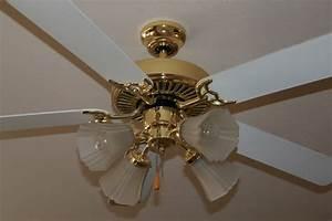 Ceiling fan update brassy ness no more windgate lane