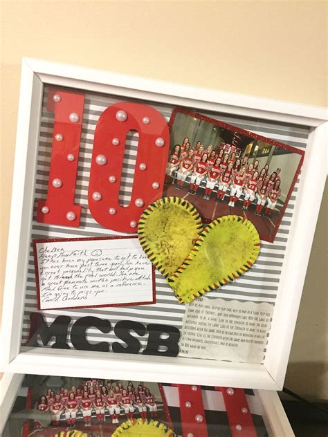 senior night shadow box senior gifts senior night