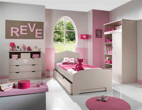 impressionnant chambre fille moderne  charmant deco