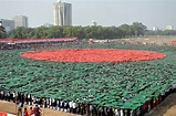 Bangladesh Breaks Human Flag, National Anthem World ...