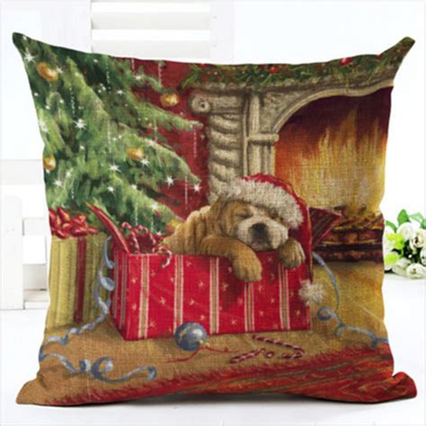 Ebay Home Decor Australia by Home Decor Santa Claus Deer Cushion Cover