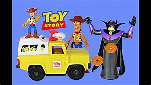 Toy Story Pizza Planet Truck Woody Zurg Imaginext