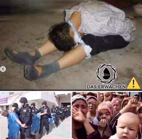 viraler instagram beitrag ueber inhaftierte uiguren