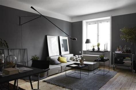 Modernes Wohnzimmer Grau Wohnzimmer Wandfarbe Modern And