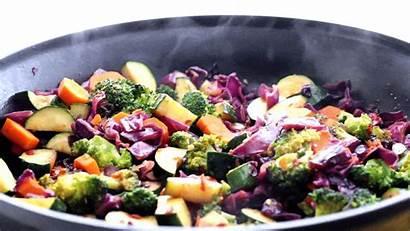 Vegetables Steaming Vegetable Fry Stir Fast Recipe