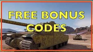 WoT, bonus, codes in August 2020 Wargaming