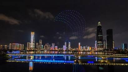 Bing Moon Autumn Drone Shenzhen Mid Festival