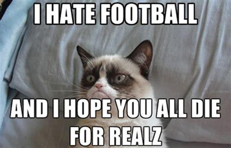 Football Cat Meme - i hate football cat meme cat planet cat planet