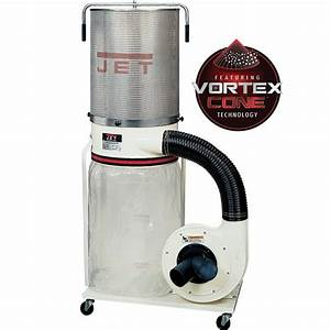 Jet Vortex Dust Collector 1 5HP w/Canister Filter (DC