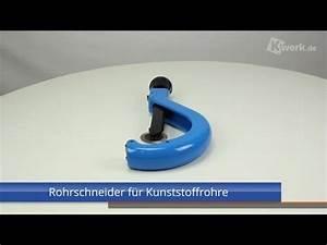 Rohrschneider Für Kunststoffrohre : rohrschneider f r kunststoffrohre youtube ~ Frokenaadalensverden.com Haus und Dekorationen