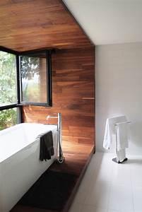 Stunning Salle De Bain Parquet Fonce Images Amazing House Design ...