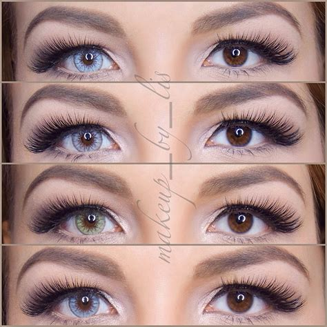 brown colored contacts desio lens contact lenses review makeup hair contact