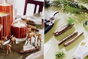Table De Fete Decoration Noel : d co une table festive r cup 39 et nature louise ~ Zukunftsfamilie.com Idées de Décoration