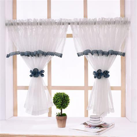 rzcortinas pastoral kitchen curtains  elegant valance